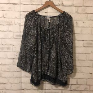 Maurices printed blouse